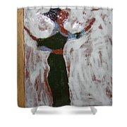 Laura - Tile Shower Curtain