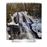 Laurel Falls In Gatlinburg Tennessee Shower Curtain