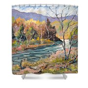 Laurentian Hills Shower Curtain