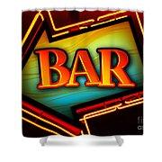 Laurettes Bar Shower Curtain
