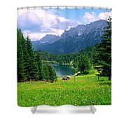 Lautersee Shower Curtain