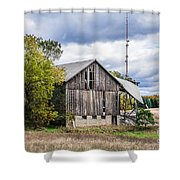 Lautner Barn Shower Curtain
