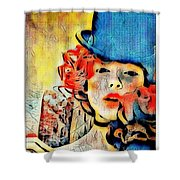Lautrec Homage Shower Curtain