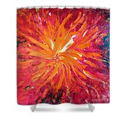 Lava Shower Curtain