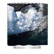 Lava, Meet Ocean 2 Shower Curtain