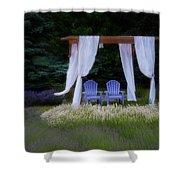 Lavender Breeze Shower Curtain