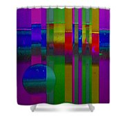 lavender Doors Shower Curtain