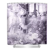 Lavender Ladies Shower Curtain