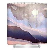 Lavender Night Shower Curtain