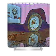 Lavender Reflections Shower Curtain