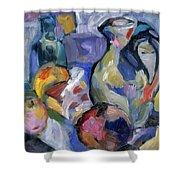 Lavender Stillyf Shower Curtain