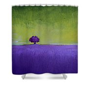 Lavender Valley Shower Curtain