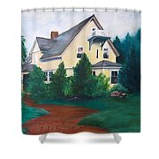 Lavern's Bed And Breakfast Shower Curtain