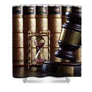 Law And Justice  Shower Curtain