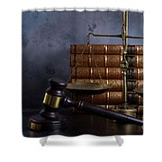 Law And Justice II Shower Curtain