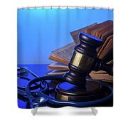 Medical Law Shower Curtain