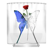 Law Of Attraction Shower Curtain