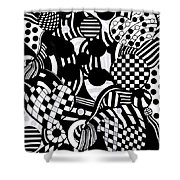Law Of Polarity Shower Curtain