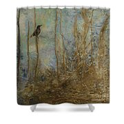 Lawbird Shower Curtain