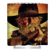 Lawman Shower Curtain