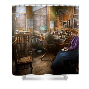 Lawyer - Always Taking Notes - 1902 Shower Curtain