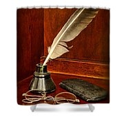 Lawyer - The Brief Starts Here. Shower Curtain