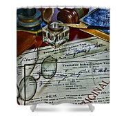 Lawyer - The Tax Attorney Shower Curtain