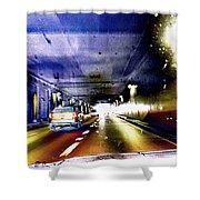 Lax Tunnel Shower Curtain