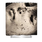 Lay Down With Sins  Shower Curtain