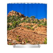 Layer Upon Layer Shower Curtain