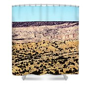 Layered Land Shower Curtain