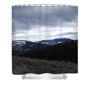 Layered Serenity Shower Curtain