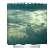 Layers Of Clouds Shower Curtain