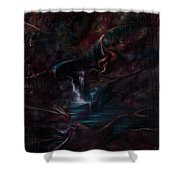 Layers Of Life Shower Curtain