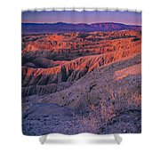 Layers Of Light Shower Curtain