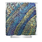 Layers Of Our Lives Shower Curtain