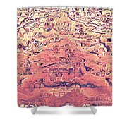 Layers Of Sand Shower Curtain