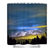 Layers Of The Night Shower Curtain