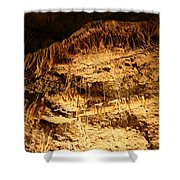 Layers Of Time - Cave Shower Curtain