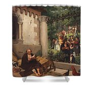 Lazarus And The Rich Man 1865 Shower Curtain