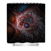 Lazarus Eleven Shower Curtain