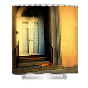 Lazy Afternoon At Kings Street In Charleston Sc Shower Curtain