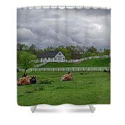 Lazy Afternoon In The Country Shower Curtain