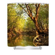 Lazy Afternoon On The Creek 2 Shower Curtain
