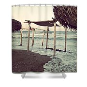 Lazy Monday By The Sea Shower Curtain