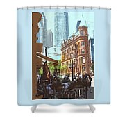 Lazy Summer Afternoon Shower Curtain