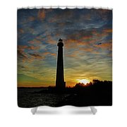 Old Barney At Dawn Shower Curtain