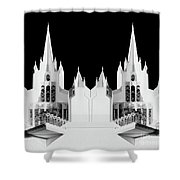 Lds - Twin Towers 2 Shower Curtain