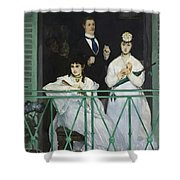 Le Balcon Shower Curtain