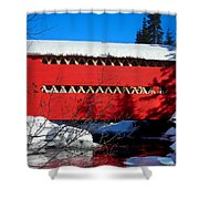 Le Boise Du Pont-rouge ... Shower Curtain